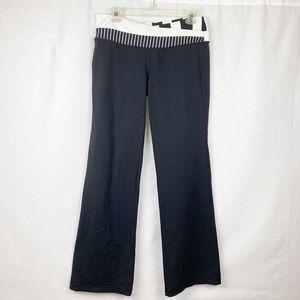 Lululemon Black/White Astro Yoga Pants. Size 10.